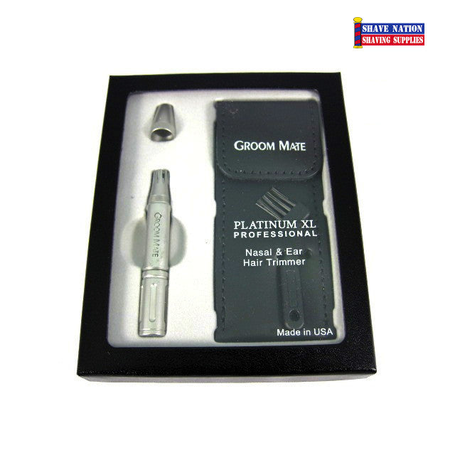 Groom Mate Nose & Ear Trimmer Platinum XL Professional
