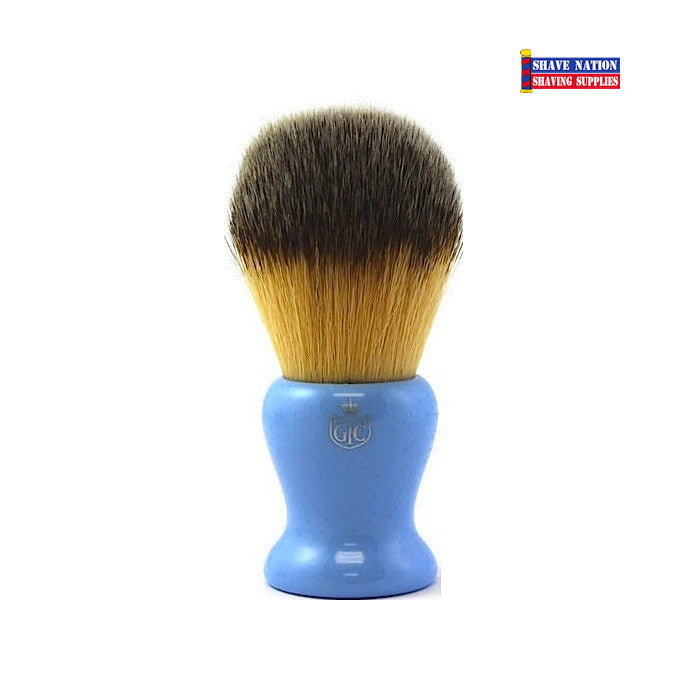 Grooming Co. Synthetic Brush-Blue