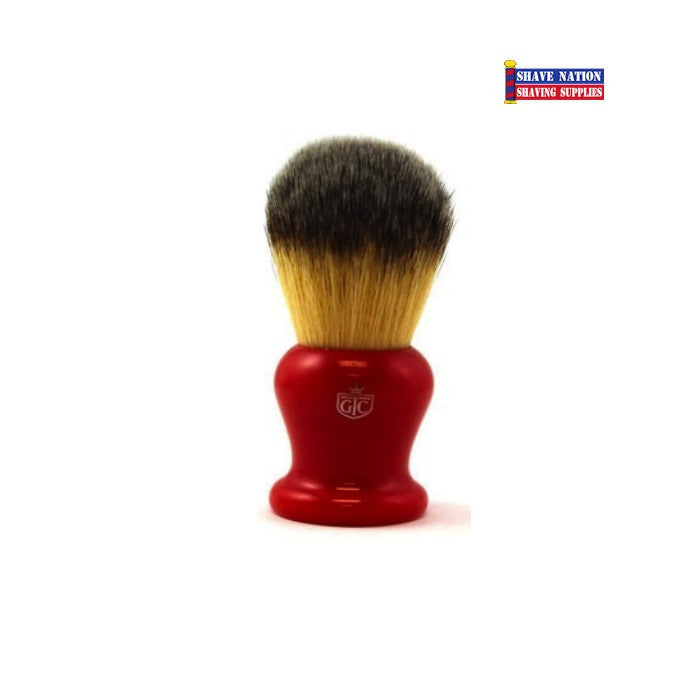 Grooming Co. Synthetic Brush-Red