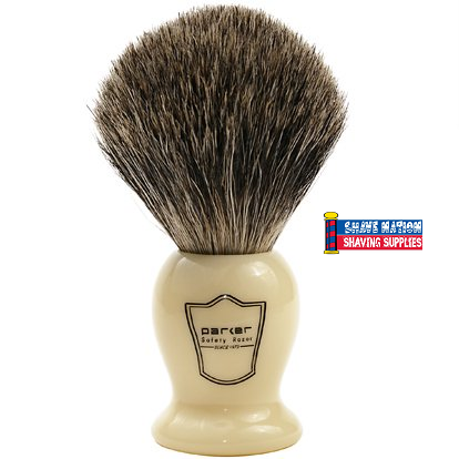 Parker Pure Badger Brush Ivory Classic