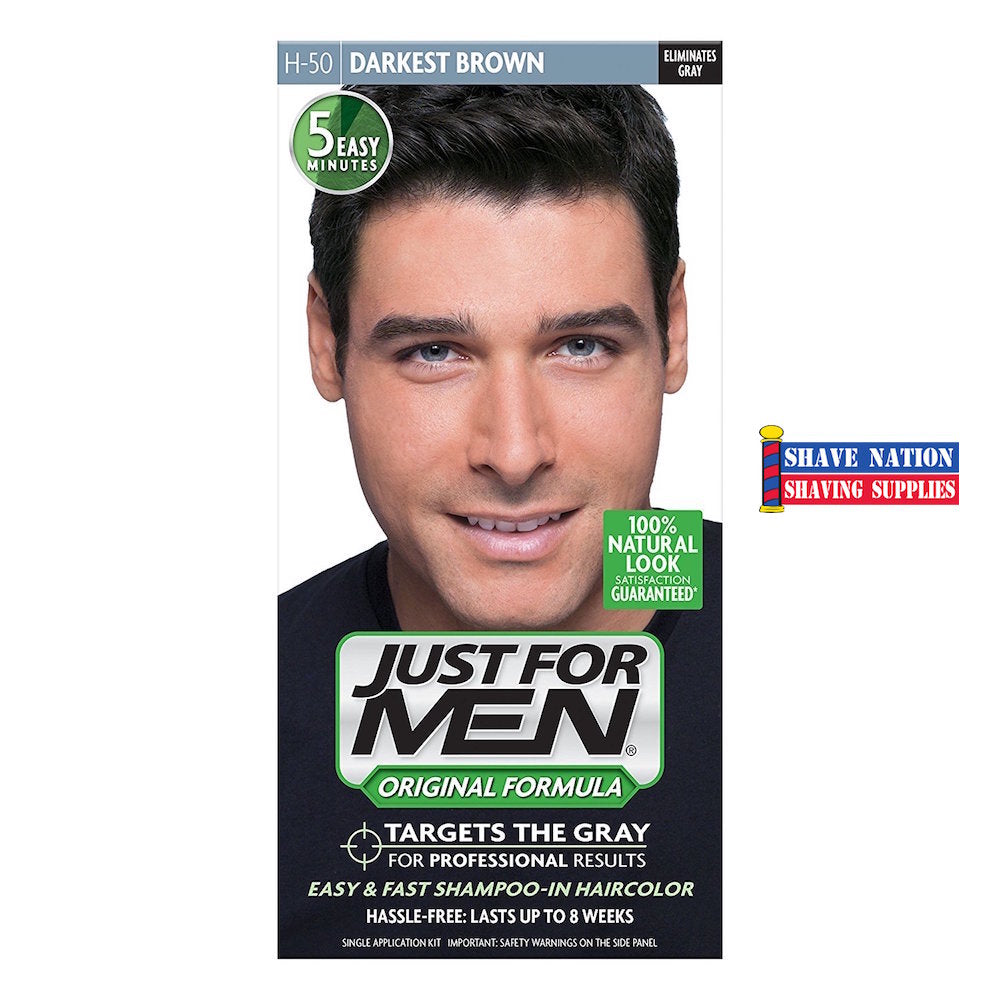 Just For Men Hair Color-Darkest Brown