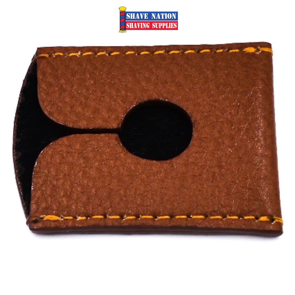 Parker Safety Razor Head Cover Brown