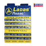 Ladas Super Stainless DE Blades 100 Ct