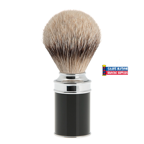 Muhle Silvertip Badger Brush Black