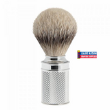 Muhle Silvertip Badger Brush with Chrome Handle
