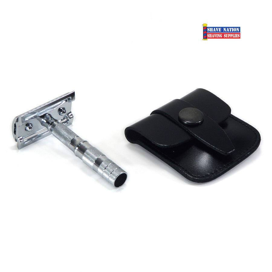 Merkur Travel Safety Razor Flat Bar