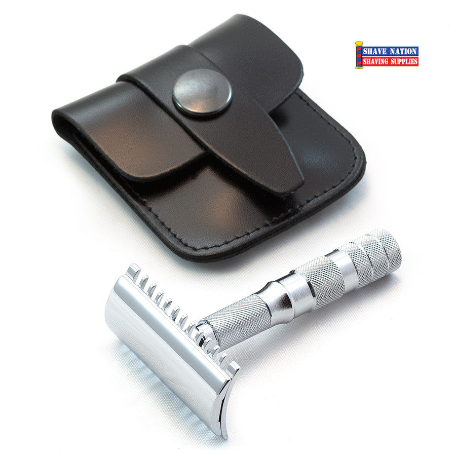 Merkur Travel Safety Razor Open Comb