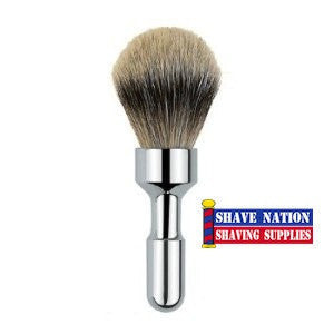 Merkur Futur Silvertip Brush Polished Chrome