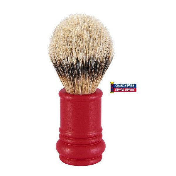 Merkur Silvertip Brush Red