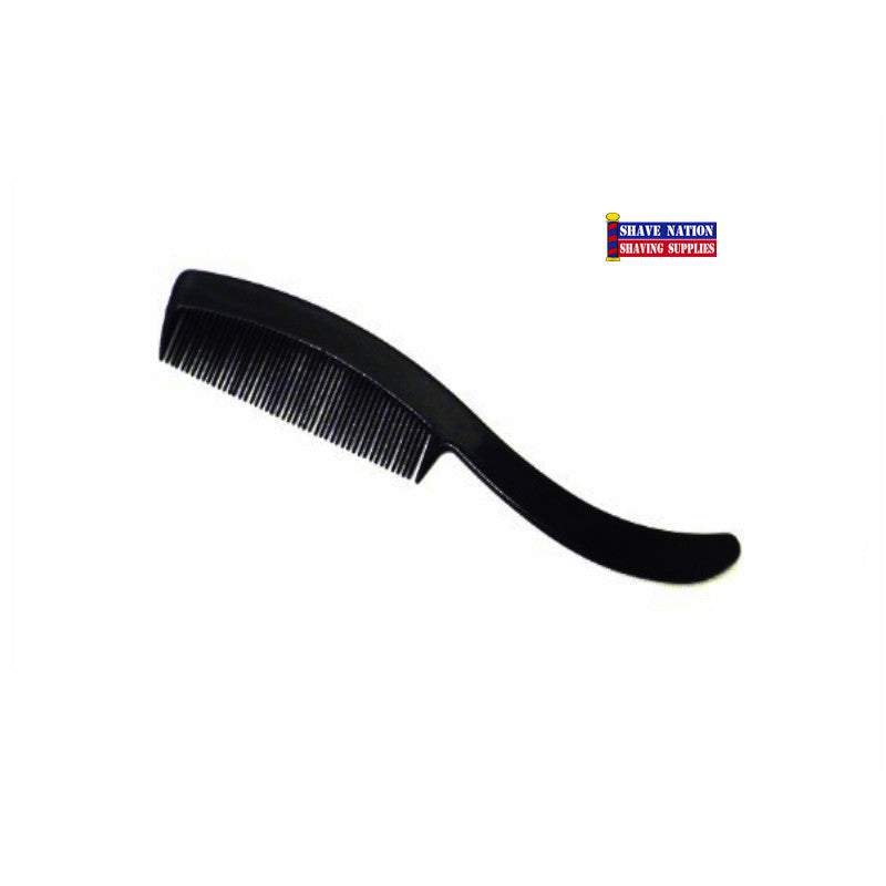 Mini Moustache Comb-Black