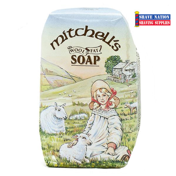 Mitchell's Wool Fat Bath Soap Bar