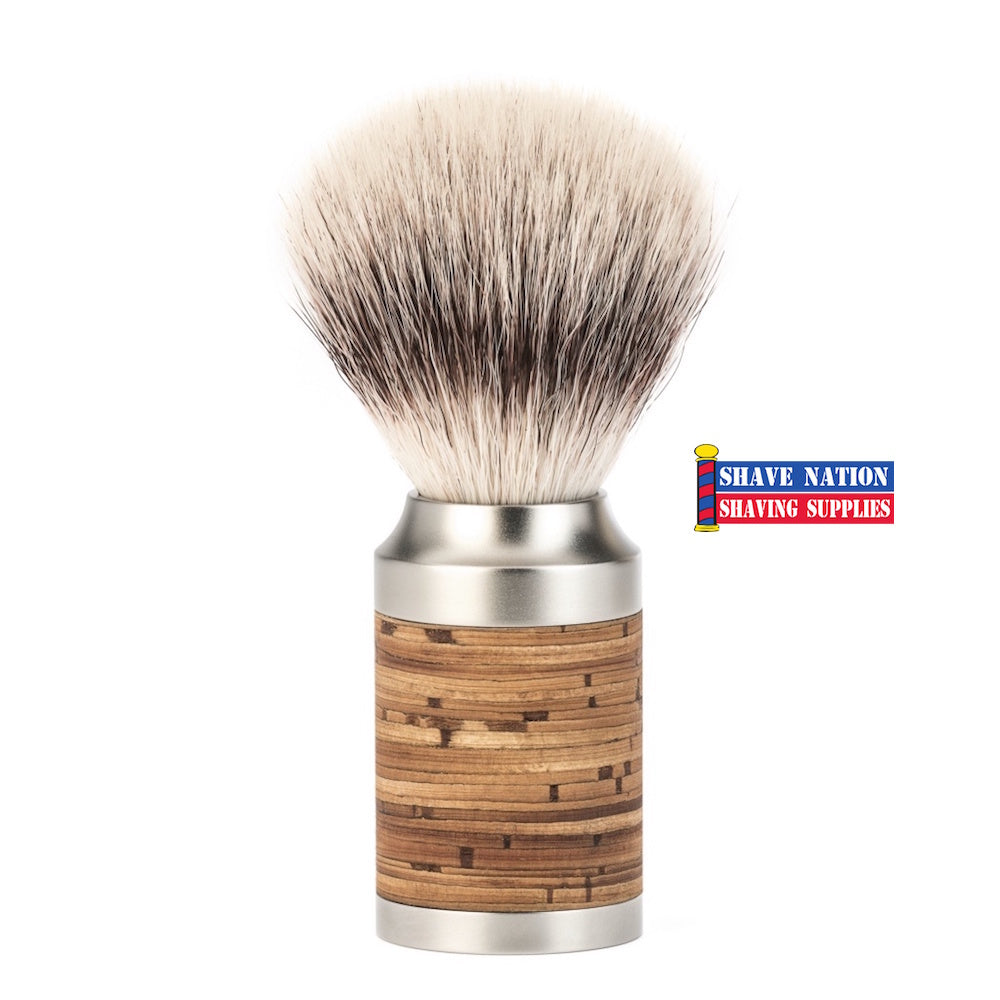 Muhle Rocca Birch Bark Silvertip Fiber Shaving Brush