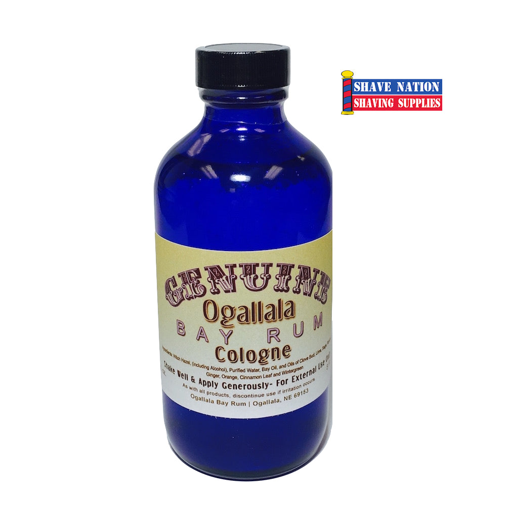 Ogallala Bay Rum Cologne 8oz