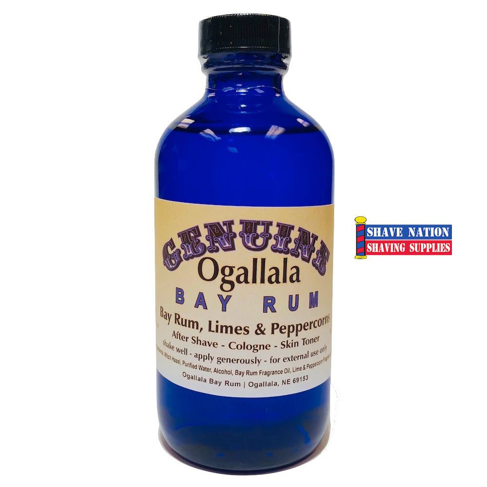 Ogallala Bay Rum Aftershave Limes & Peppercorns 8oz