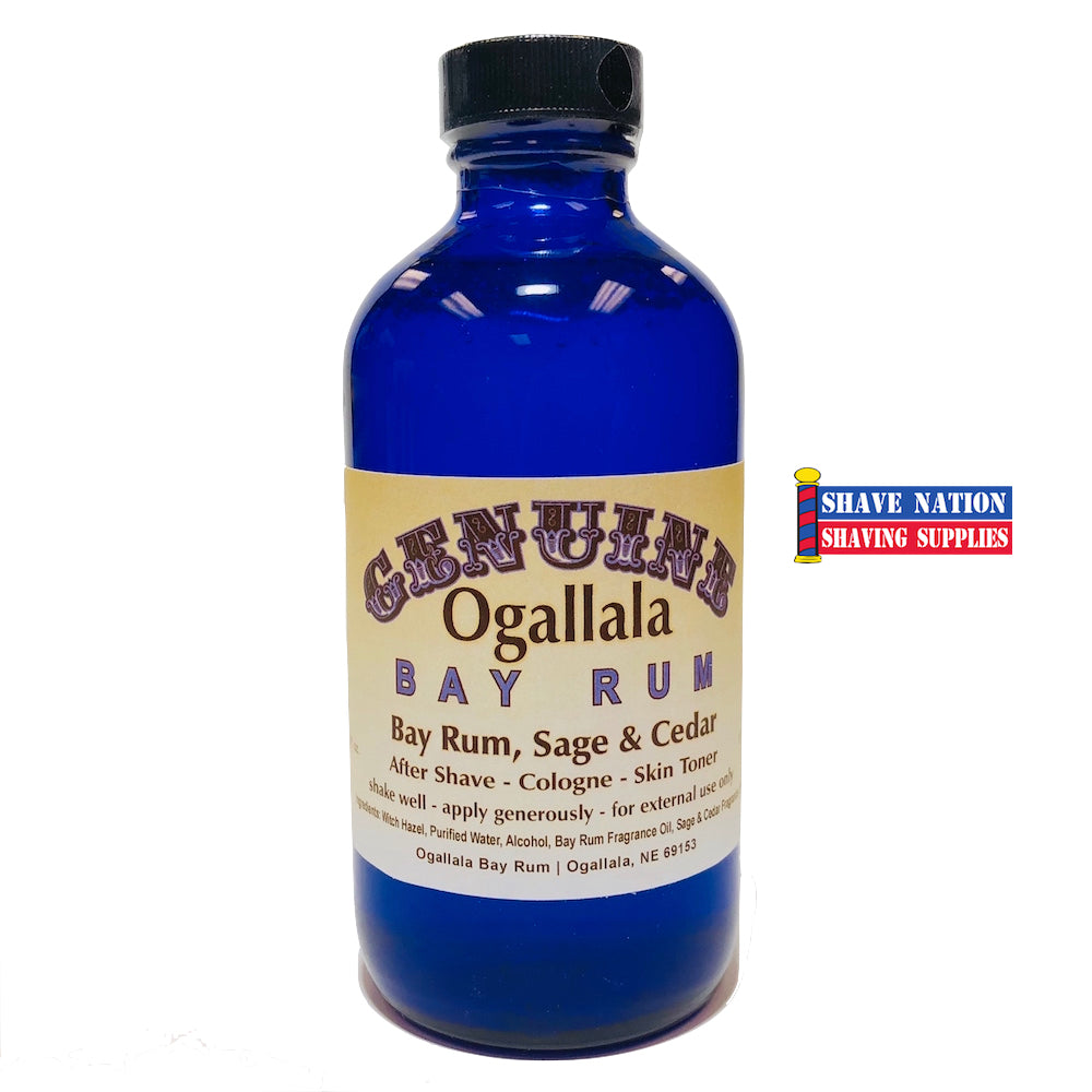 Ogallala Bay Rum Aftershave Sage & Cedar 8oz