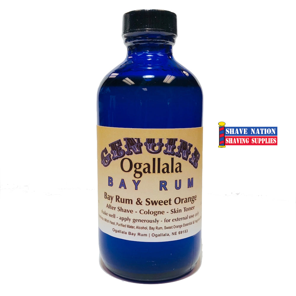 Ogallala Bay Rum Aftershave Sweet Orange 8oz