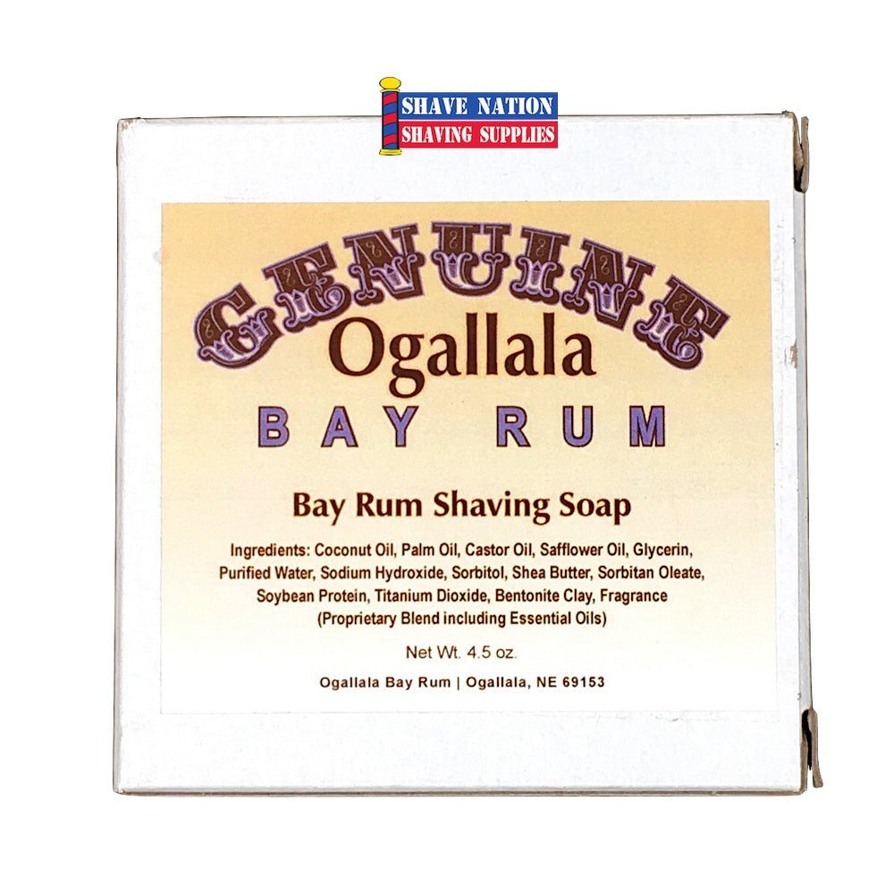 Ogallala Bay Rum Shaving Soap