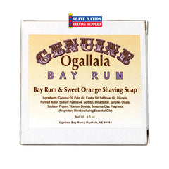 Ogallala Bay Rum & Sweet Orange Shaving Soap