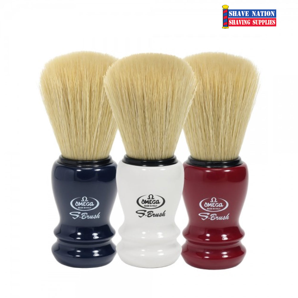 Omega S-Brush Synthetic Brush