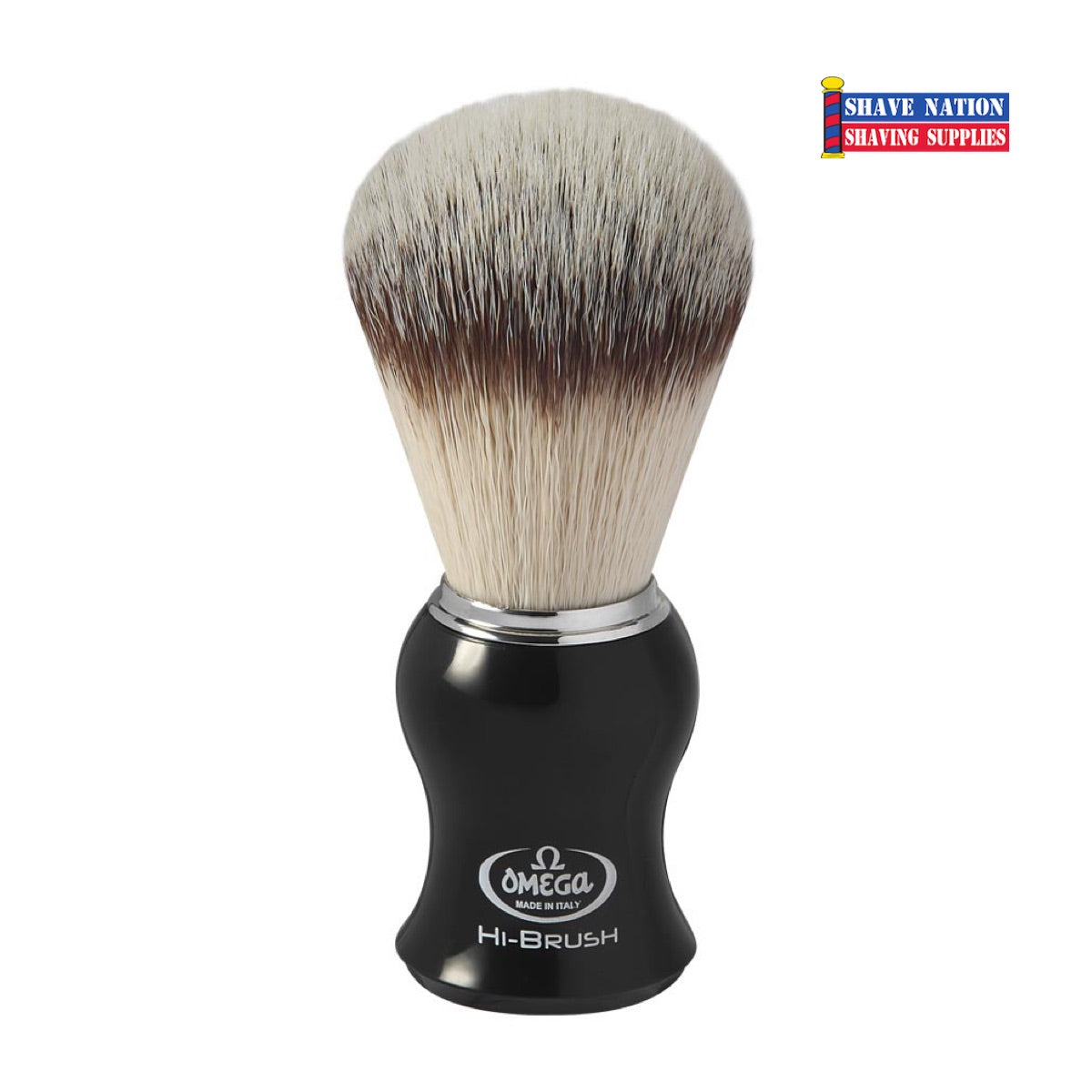 Omega Hi-Brush Synthetic Shaving Brush
