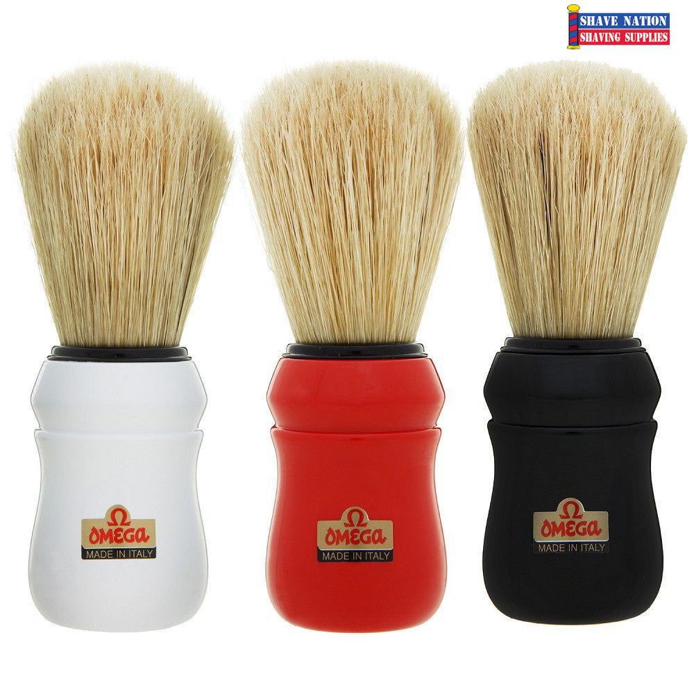Omega Professional Barber Shaving Brush-Boar Bristle