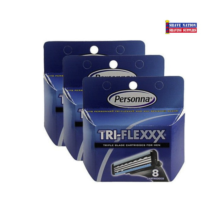 Personna TRI-FLEXXX Cartridge Blades