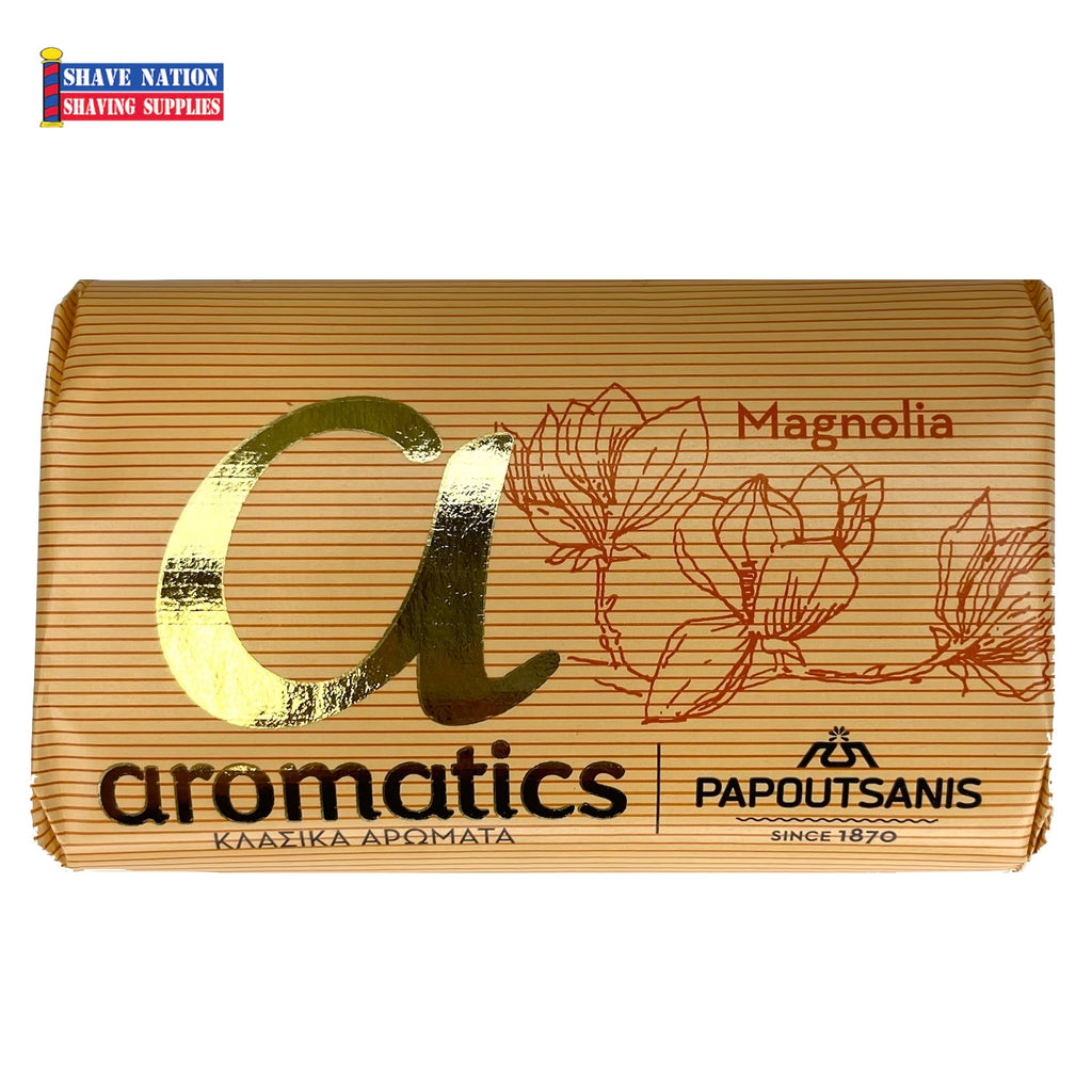 Papoutsanis Magnolia Bar Soap
