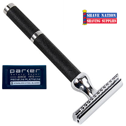 Parker Closed Comb Safety Razor 3-Piece 71R