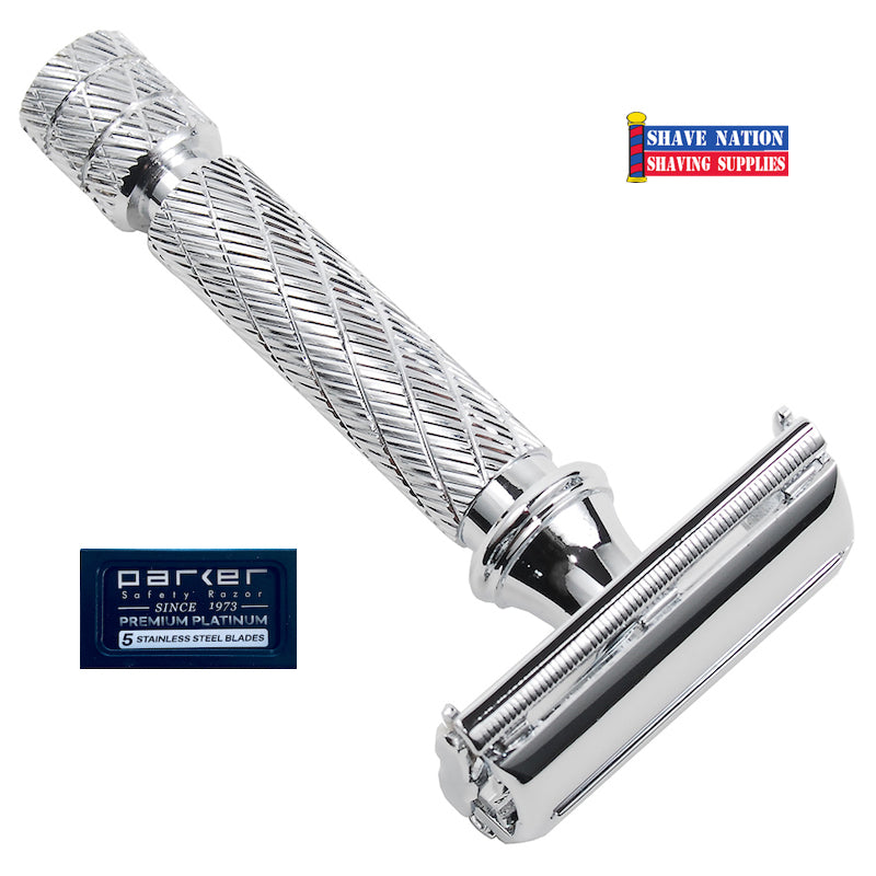 Parker Short Handle Butterfly Safety Razor 87R