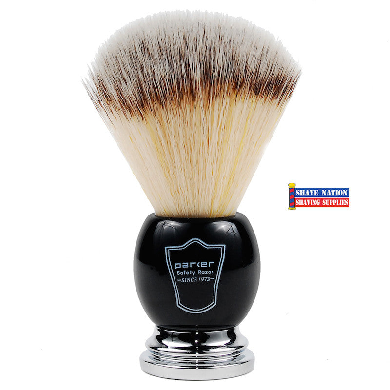Parker Synthetic Brush Black & Chrome