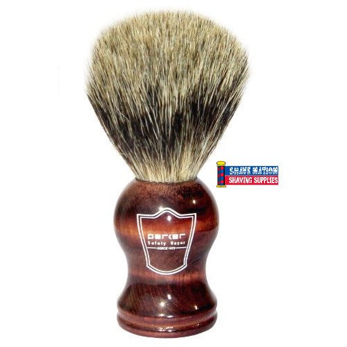 Parker Pure Badger Brush Rosewood