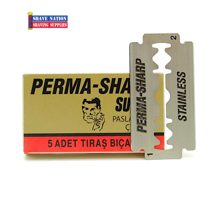 Perma-Sharp Super DE Blades 5Pk