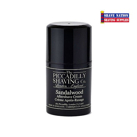 The Piccadilly Shaving Co. Sandalwood AfterShave Cream