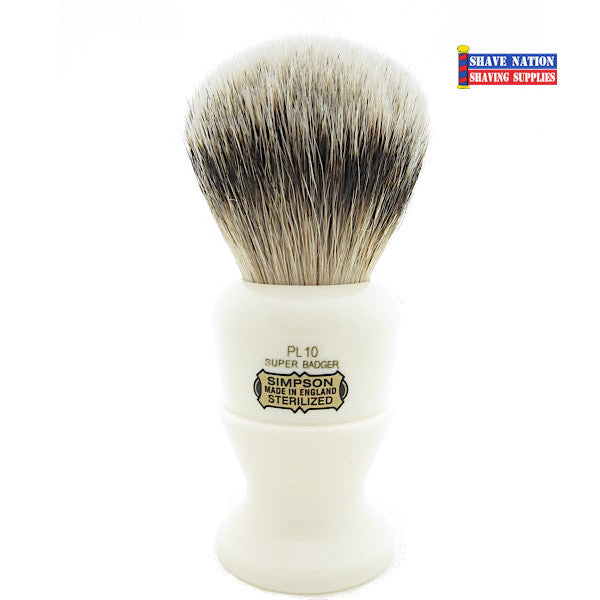 Simpsons Polo PL10 Super Badger Brush