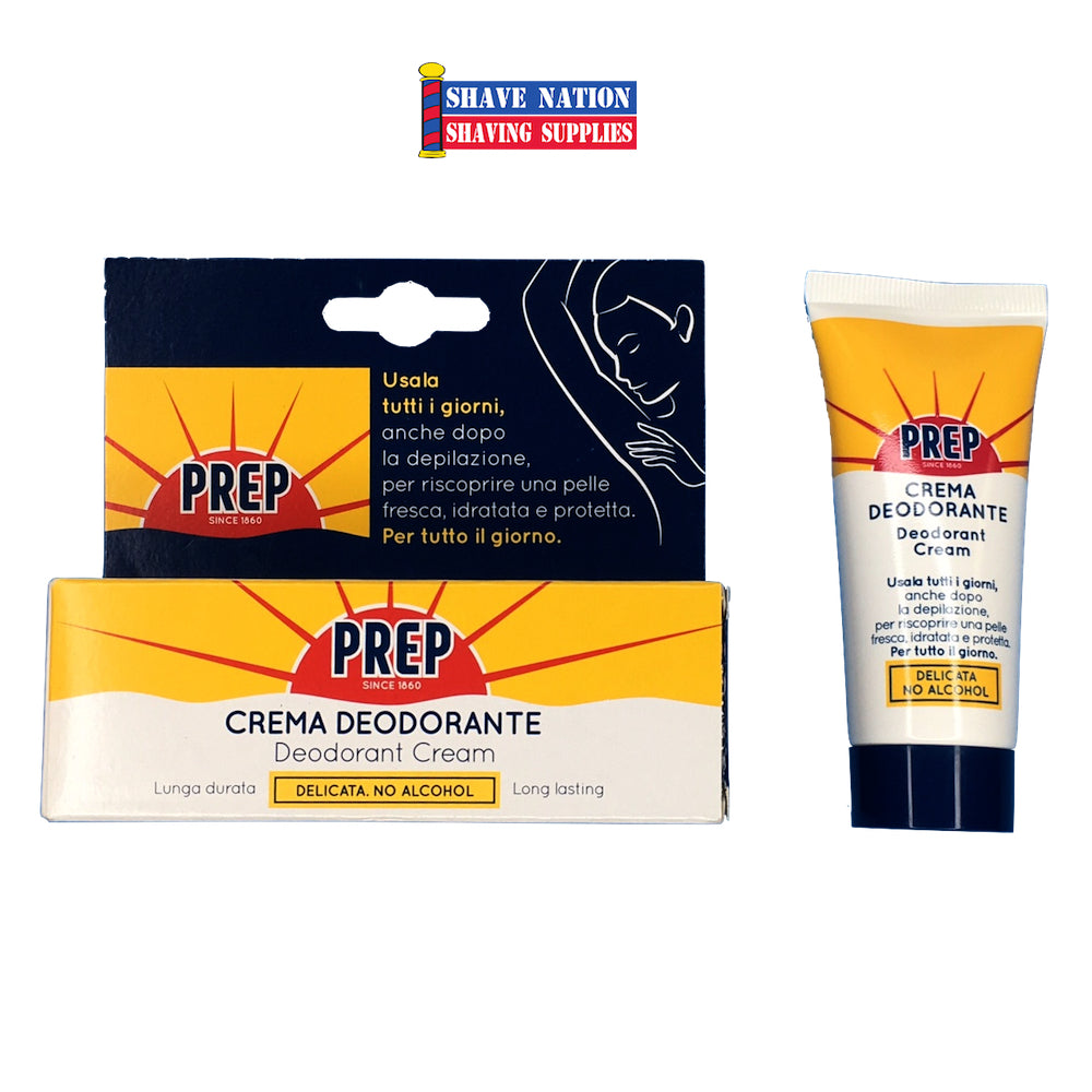 Prep Deodorant Cream Tube