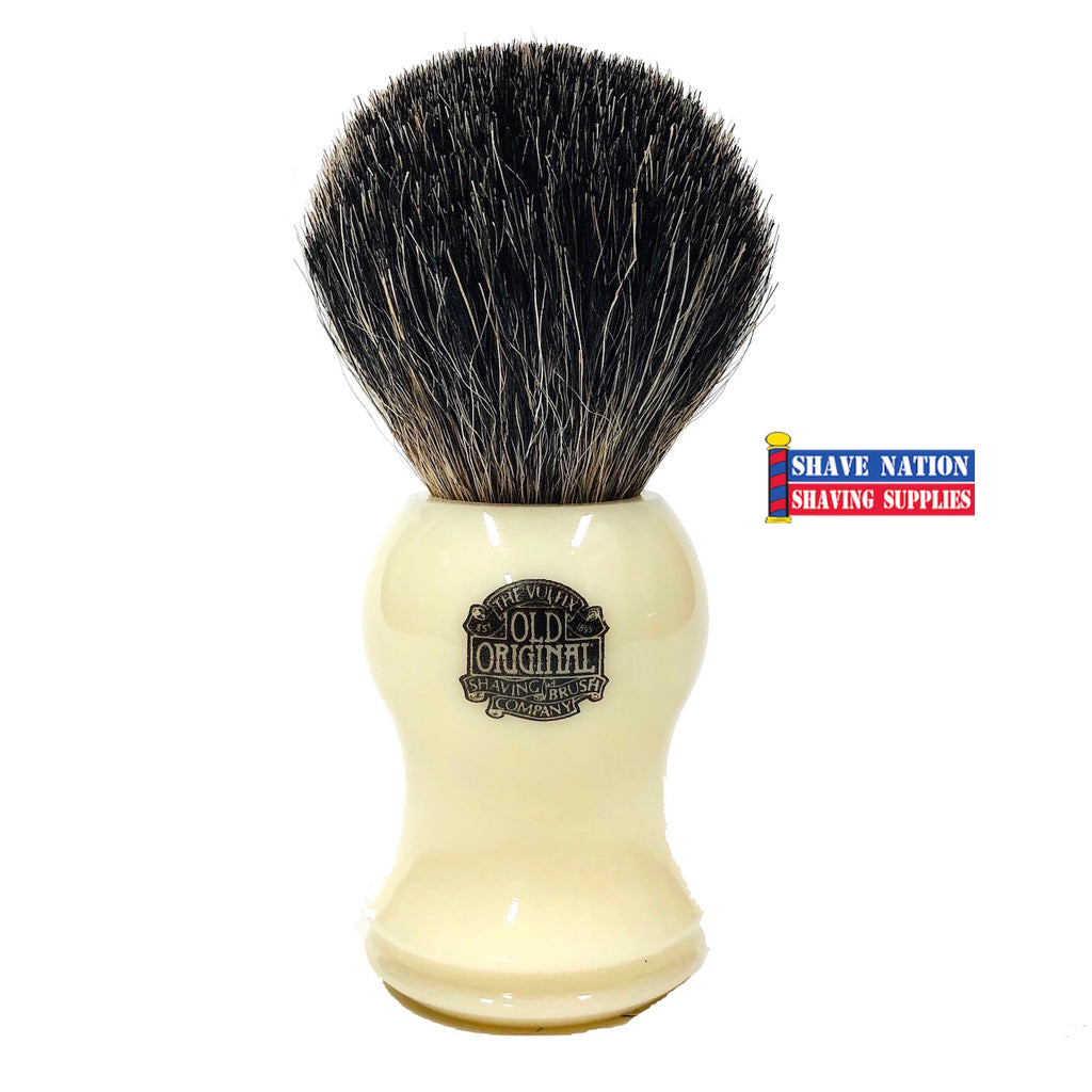 Progress Vulfix Pure Badger Shaving Brush-Cream Handle