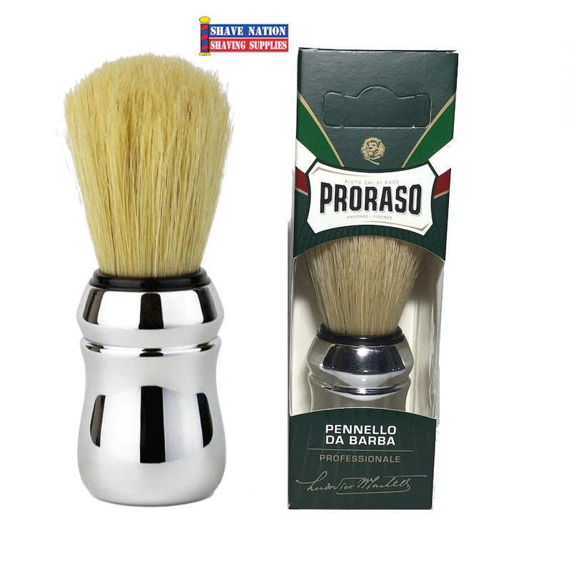 Proraso-Omega Boar Brush Chrome Handle