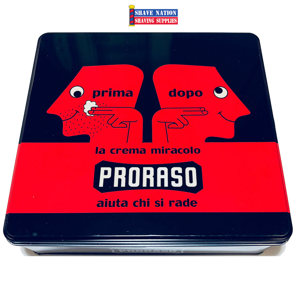 Proraso Vintage Tin Shaving Set-Nourish the Skin Formula-Prima Dopo