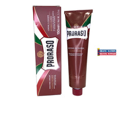 Proraso Shaving Cream Sandalwood & Shea Butter Tube