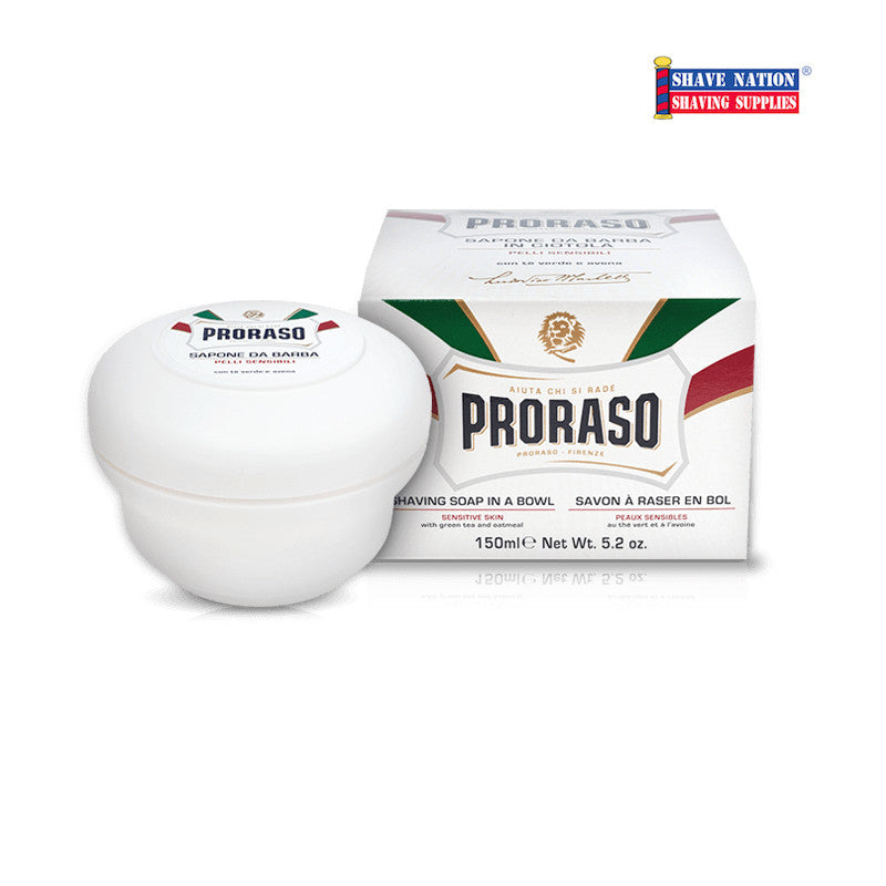 Proraso Shaving Soap Sensitive Skin Jar