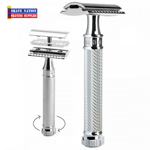 Muhle Safety Razor Closed Comb R89 Twist