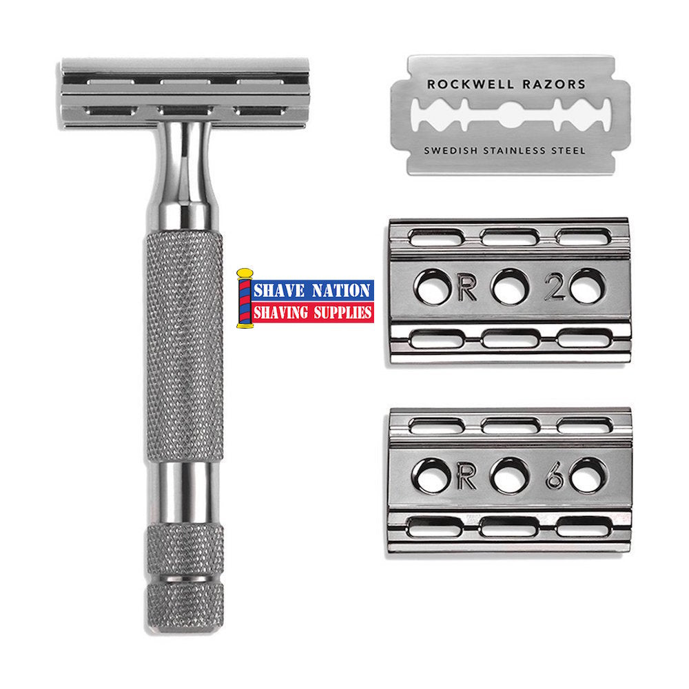 Rockwell 6C GunMetal Adjustable Safety Razor