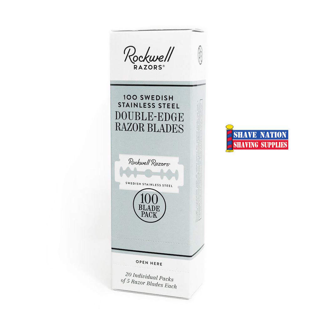 Rockwell Double Edge Razor Blades 100ct