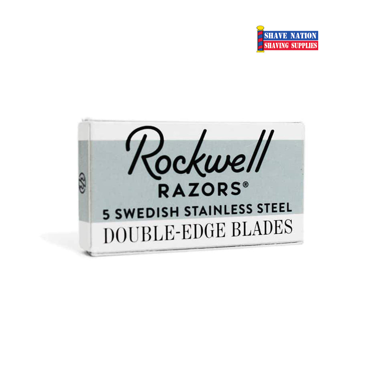 Rockwell Swedish Stainless Steel DE Blades 5pk