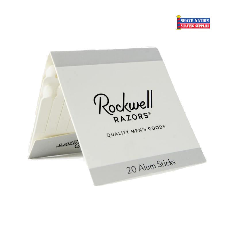 Rockwell Alum Sticks-Pack of 20