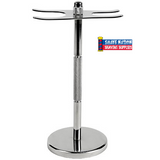 Parker Razor & Brush Stand-Stainless