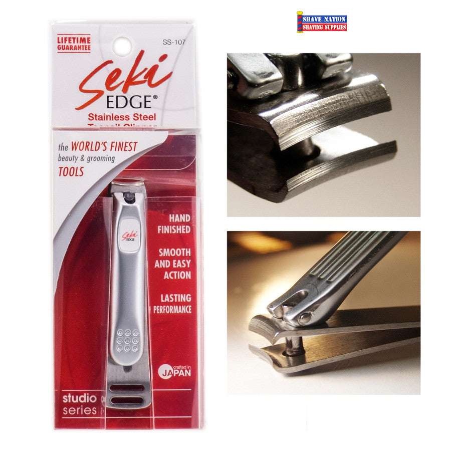 Seki Stainless Steel Toenail Clipper