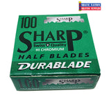 Sharp Hi-Chromium Half Blades 100ct