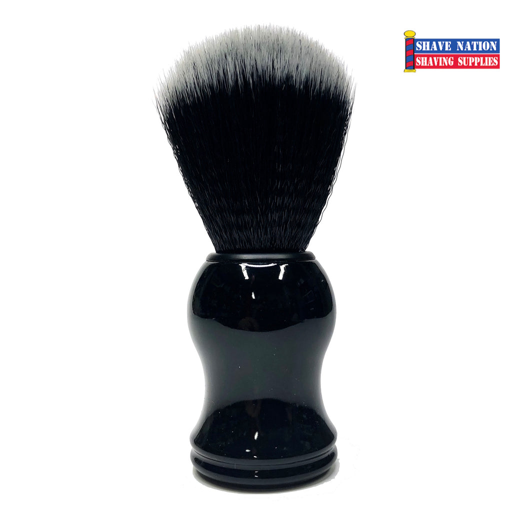 Shave Nation Black Synthetic Shaving Brush