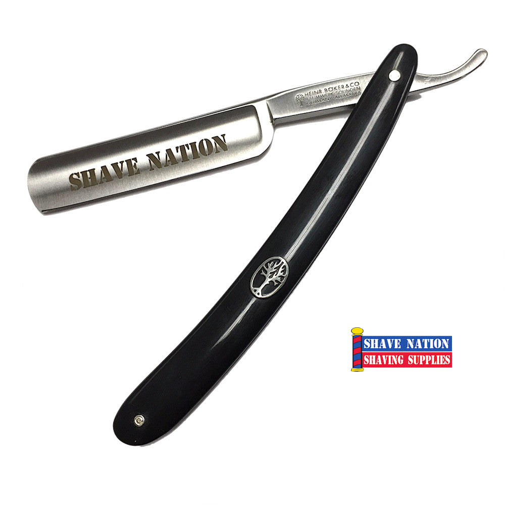 Boker-Shave Nation Straight Razor 5/8 Blade